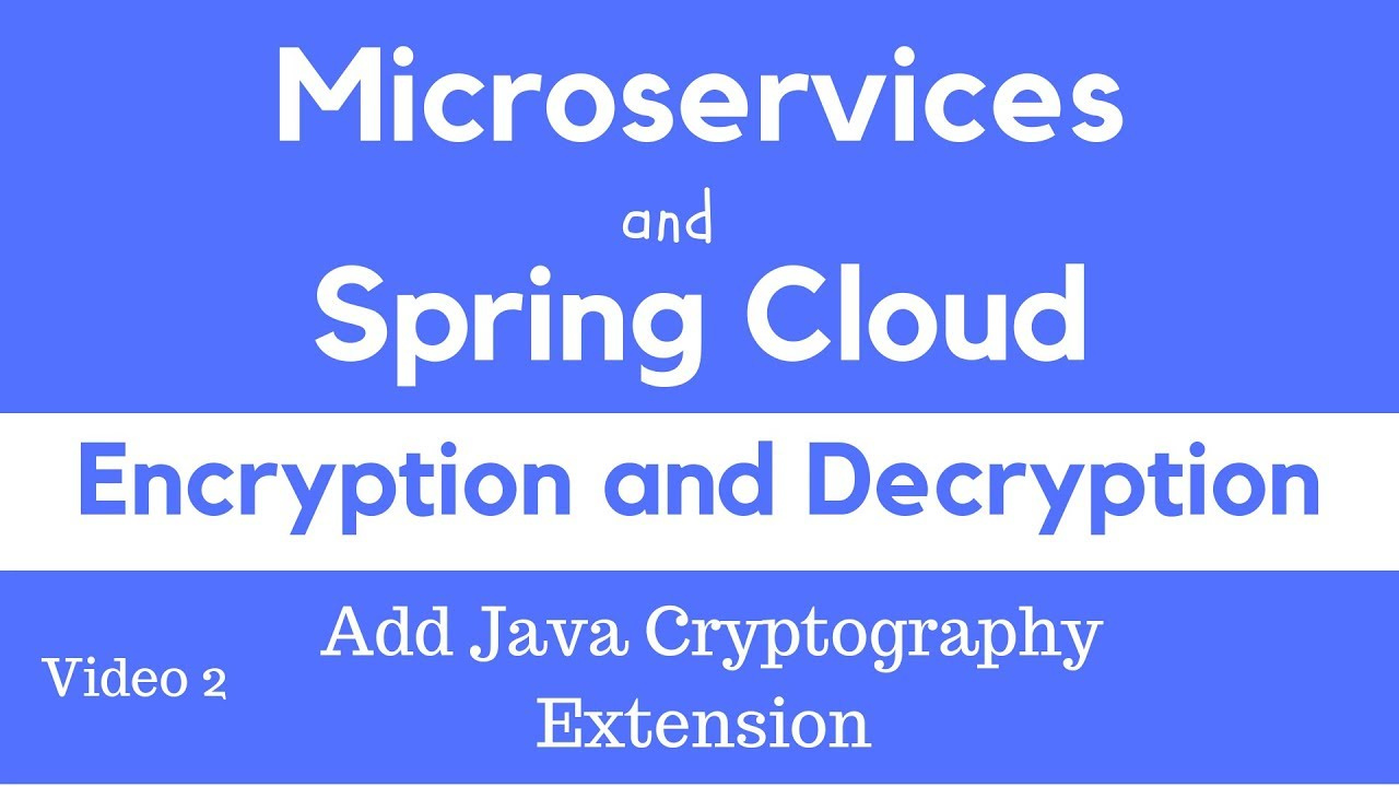 Spring Cloud Config - Symmetric Encryption and Decryption - Apps