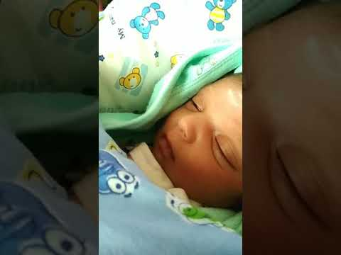 Cute Baby Girl Smile While Sleeping Youtube