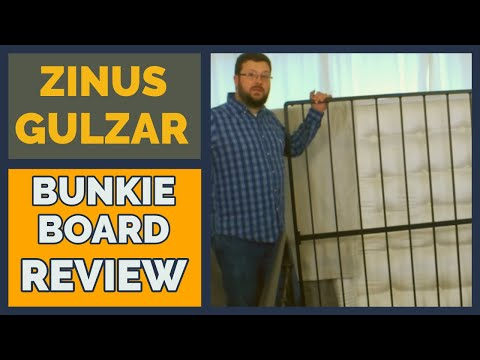 Zinus Gulzar Bunkie Board Assembly & Review