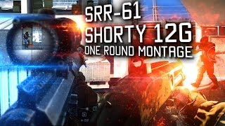 SRR-61 & Shorty, One Round Montage (4k 60fps, Ultra HD)