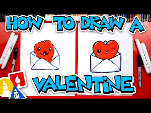 How To Draw A Valentine
