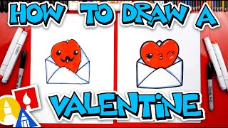 How To Draw A Valentine