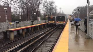 MTA LIRR Bombardier M7 Leaving Little Neck with a 1:54 train to Port Washington