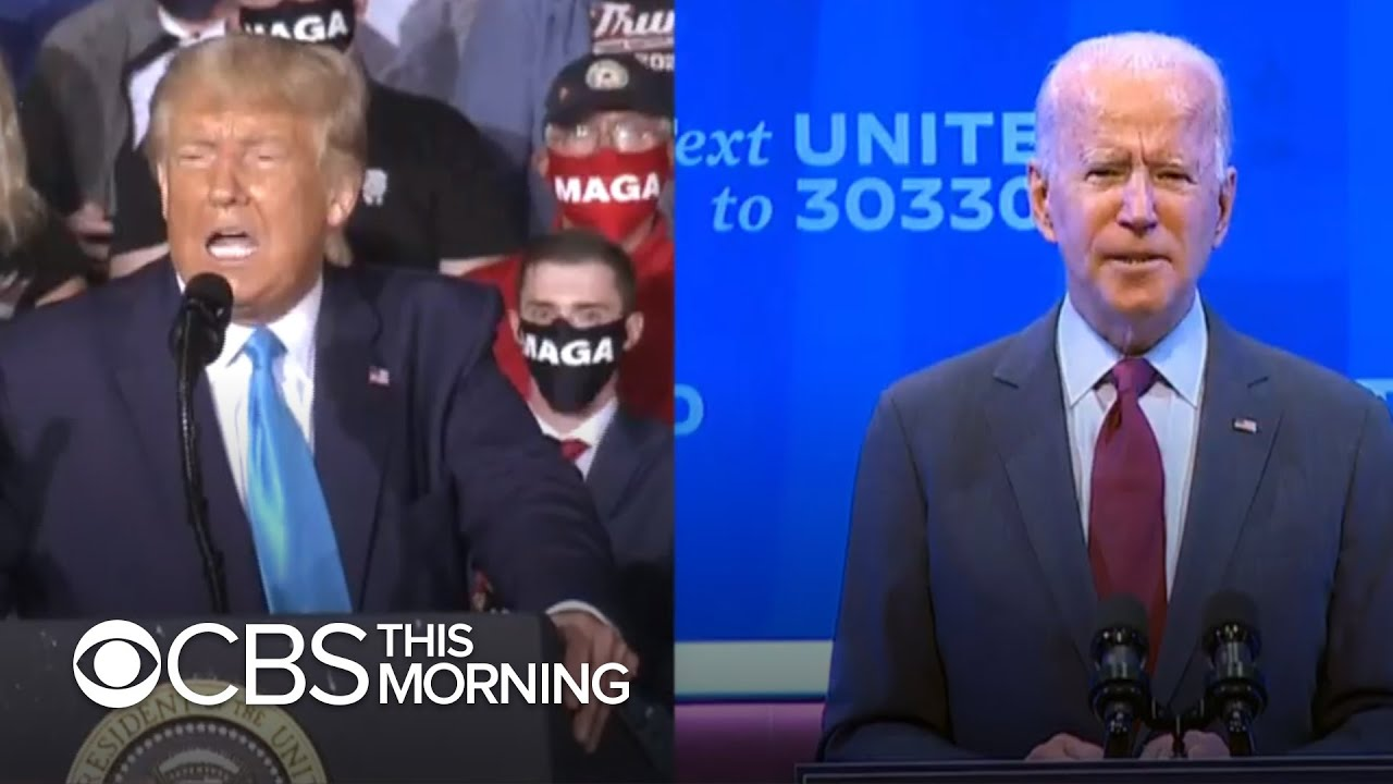 Video thumbnail for: Trump, former Vice President Biden to face off for the first time in Tuesday debate