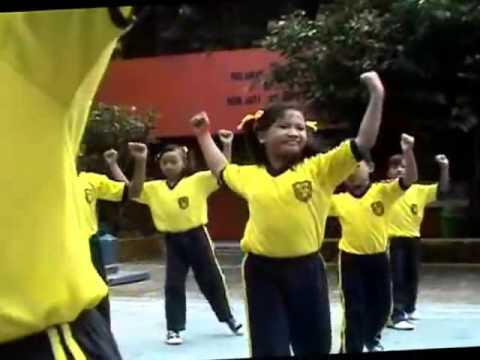 Senam Sehat Anak SD Indonesia