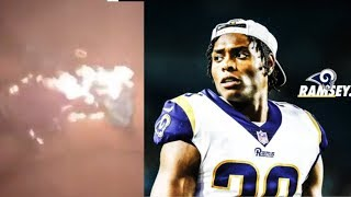 Jaguar Fans BURN Jalen Ramsey Jerseys & React To The Cornerback Being Traded To LA Rams!