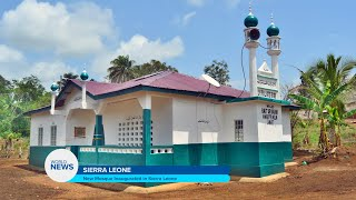 New Mosque Inaugurated in Sierra Leone