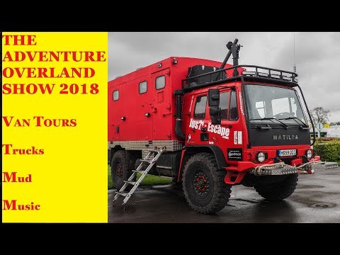 Houseless At The Adventure Overland Show 2018 Van Tours & More