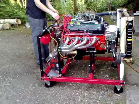 to start engine on engine stand wiring wiring a switch to starter solenoid on dodge 396 big block lunati 60202 first start cam break in