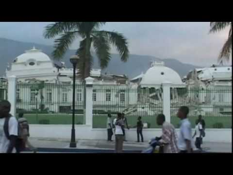 Devastation following Haiti quake