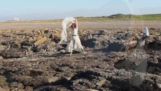 Samtampa - performance at Sker, Porthcawl - Siobhan Fitzgerald Grice