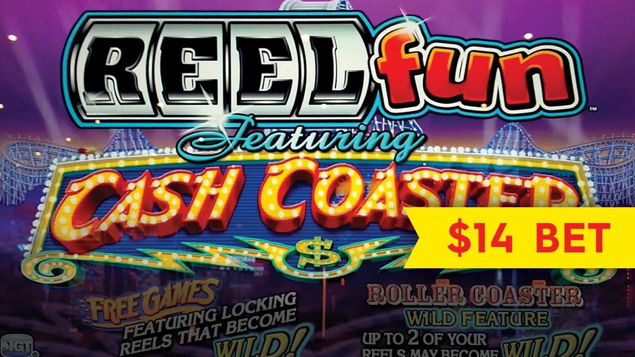 Cash Coaster Slot Machine