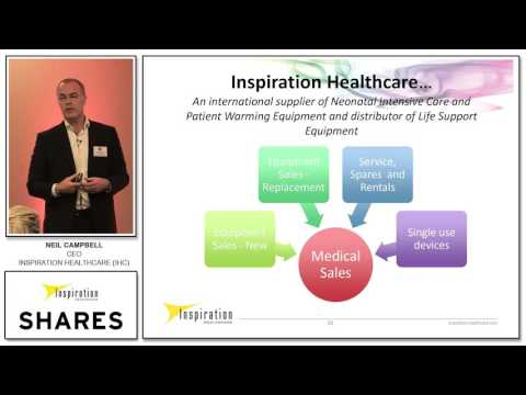 Neil Campbell, CEO of Inspiration Healthcare (IHC) at SHARES Investor Evenings