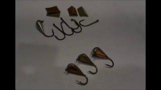 Изготовление летних мормышек для ловли карася в траве и камышах