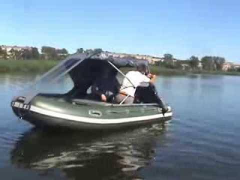 Тент для лодок пвх своими руками видео