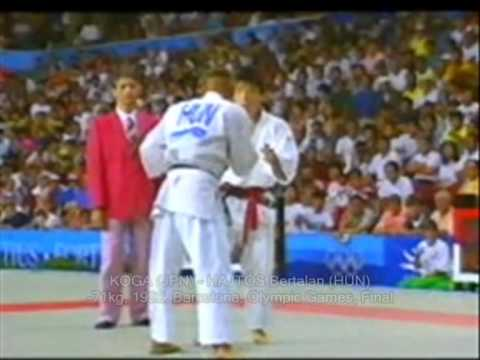 Judo Olympics -71kg KOGA (JPN) - HAJTÓS Bertalan (HUN) - Final 1992 Barcelona 柔道