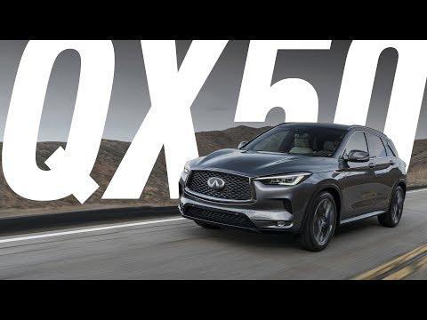 Инфинити qx50 большой тест драйв видео