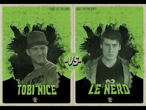 Le Nerd vs Tobi Nice // DLTLLY RapBattle (Berlin) // 2015