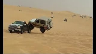 Arabian Uphill Sand Drag Fails And Wins Compilation. Arabian Crazy Hill Climb Crashes 2018 NEW