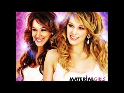 Hilary Duff and Haylie Duff - Material Girl (Audio)