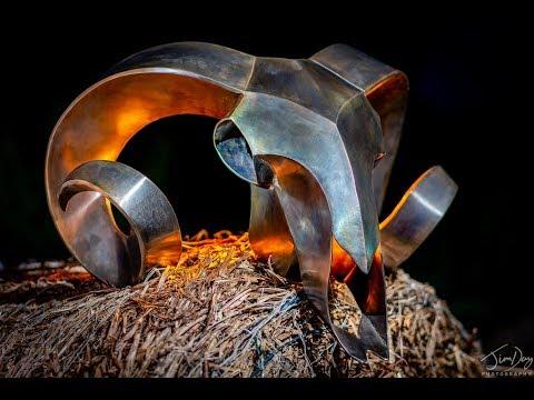 DIY Sheet metal welded sculpture finish - Cold gun blue