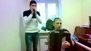 THE SAILOR AND THE MAID - Губная Гармошка и Баян на Праздник