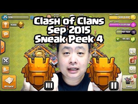 Sneak Peek 4 for Sep 2015 Clash of Clans - 1 Week Shield, TieBreaker!