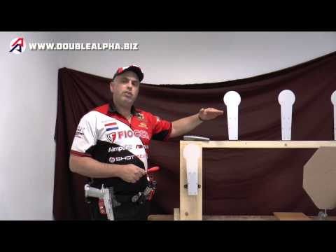 Double-Alpha Self Setting Airsoft Target