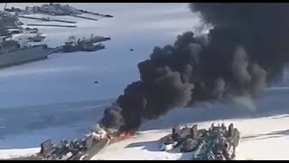 """""""Хорошо горит"""" - В РФ вспыхнула подводная лодка... Кто-то опять обед подогревал?"""
