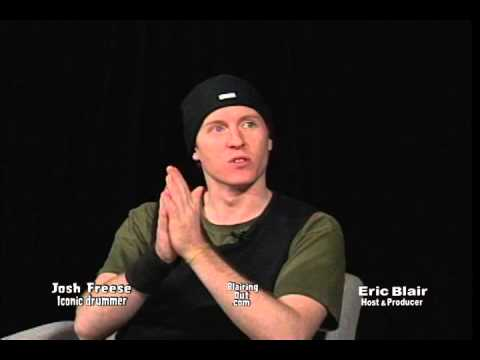 DEVO's JOSH FREESE  talks w ERIC BLAIR  2000