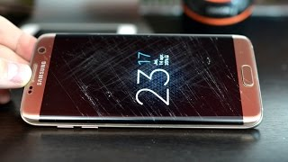 Smart Protection - Samsung Galaxy S7 Edge - Scratchtest