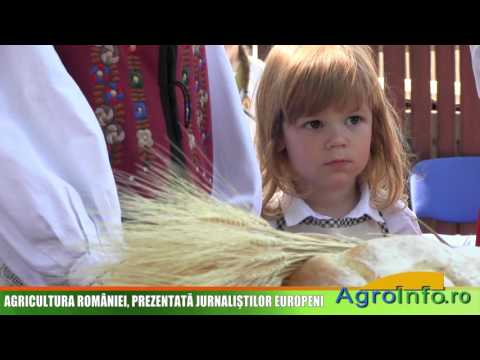 AGRICULTURA ROMÂNIEI, PREZENTATĂ JURNALIŞTILOR EUROPENI