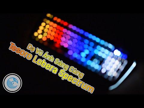 Buổi dạ vũ đầy ánh sáng với Tesoro Lobera Spectrum (nhảy theo điệu nhạc)