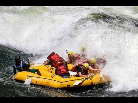 EPIC White Water Rafting Adventure On The Zambezi River In Zambia