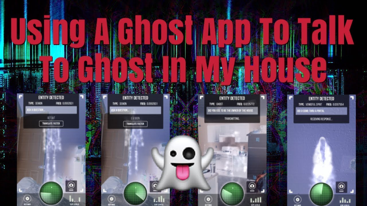 "Using The ""Ghost Detector Radar"" Iphone App To Talk To Ghost In My House -  Just For Fun"