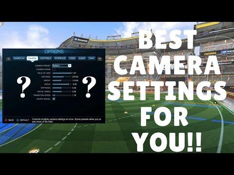 Best Camera Settings 2018 Rocket League Tutorial