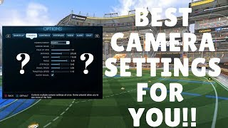If you are struggling to find the best camera settings for your style of play in rocket league then don't worry. today's tutorial, we wi...