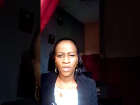 Rev Mrs Kenny Akins. NIGERIA ARISE. I MARK MYSELF SAFE part 1