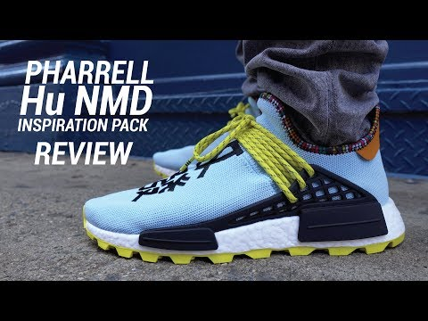 Adidas Pharrell Hu NMD Clear Sky Inspiration Pack Review