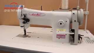 Chandler 406rb 1 Walking Foot Sewing Machine   Includes Head, Table And Servo Or Clutch Motor