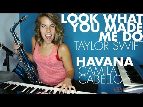 Havana  Camila Cabello + Look What You Made Me Do Taylor Swift Ali Spagnola mashup