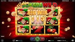 Play Golden Jokers Wild Online Casino Slots Game 🎰 Game-play Walk-through ► (Slots Big Win $115) 💰