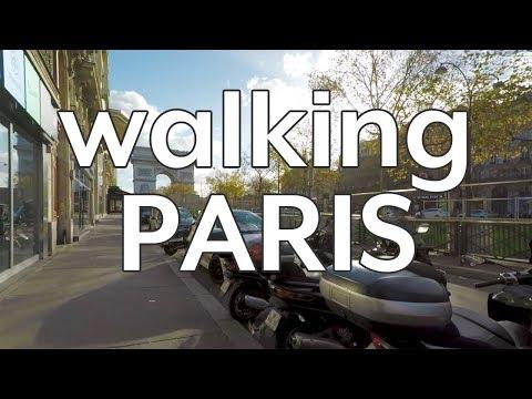 Walking PARIS in the morning, France