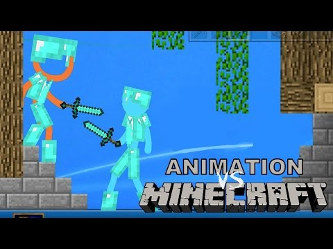 Thumbnail: Animation VS Minecraft - JuegaGerman