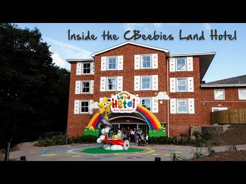 A look inside the CBeebies Land Hotel at Alton Towers Resort - 4k