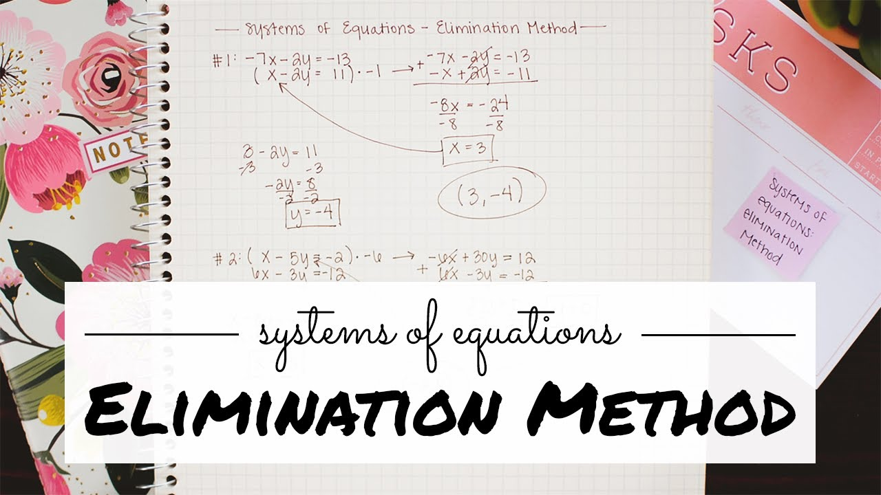 Beginner's Guide to Systems of Equations - Math Hacks - Medium