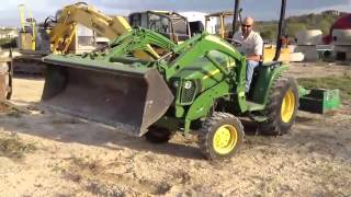 2006 John Deere 3320 Tractor review and walk around