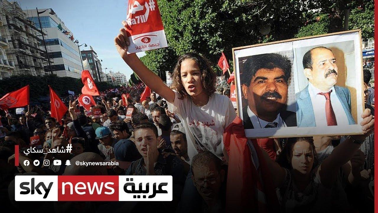 تونس:اشتباكات بين أنصار النهضة ومؤيدي قرارات الرئيس  - نشر قبل 7 ساعة