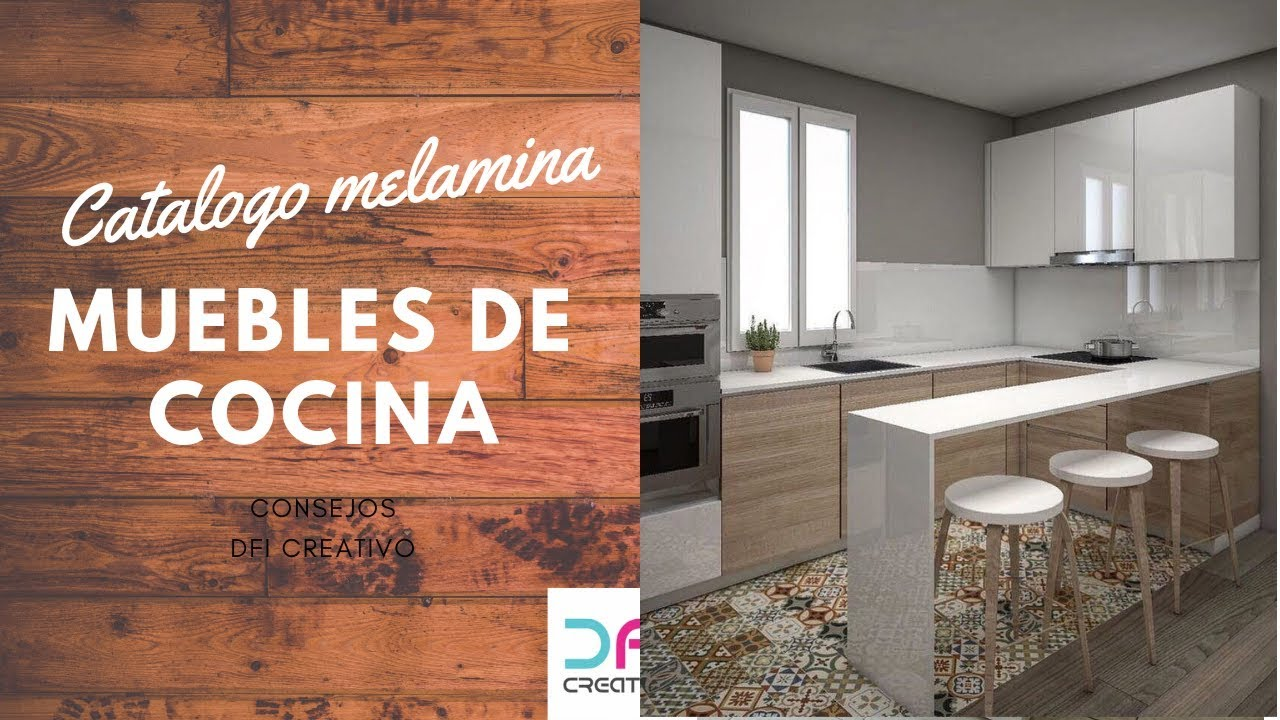 catalogo de cocinas - muebles en melamina - kitchen furniture catalogue