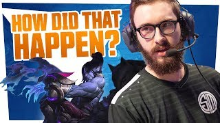 Bjergsen - HOW DID THAT HAPPEN?